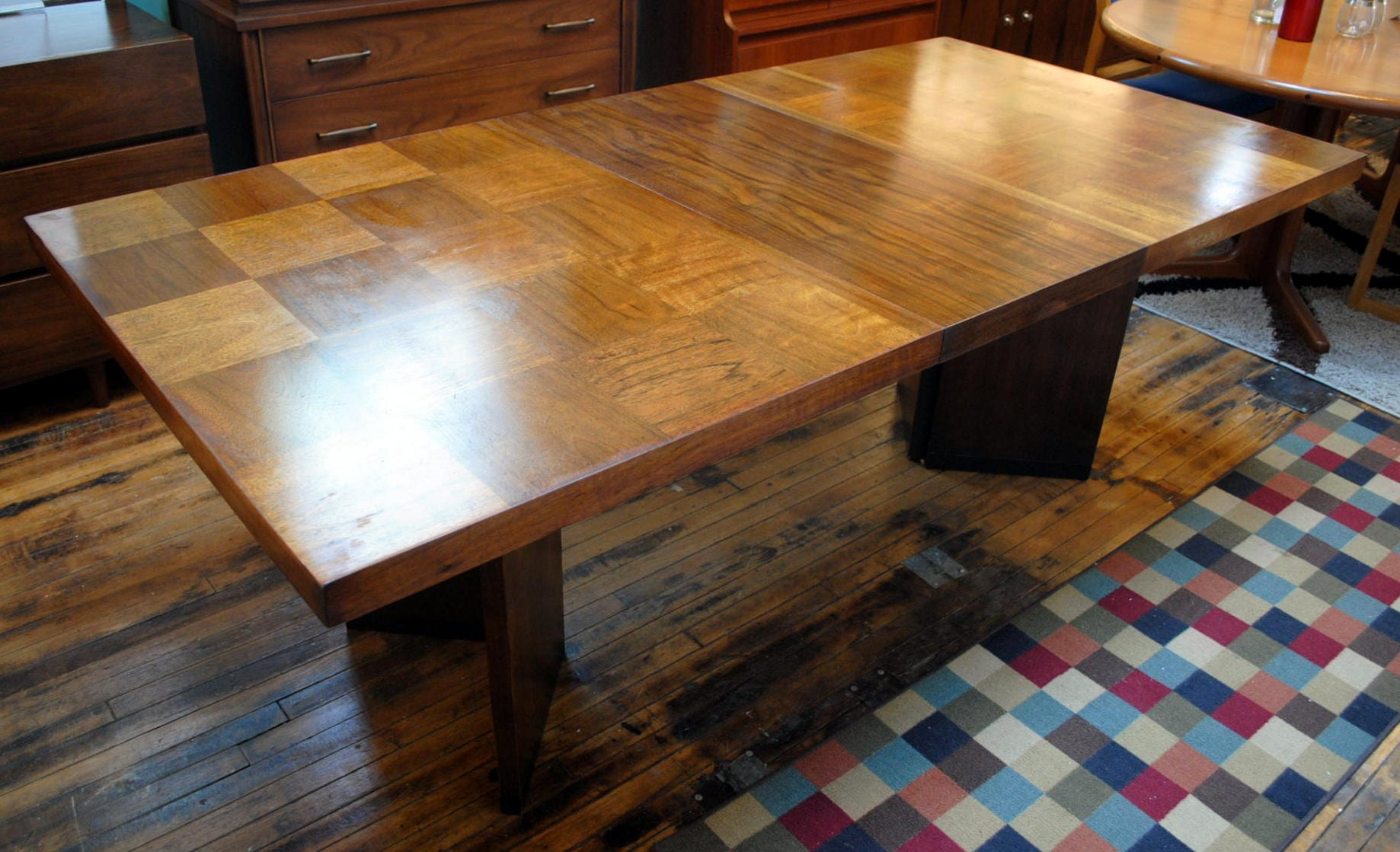 Mid Century Brutalist Dining Table By Lane Circa