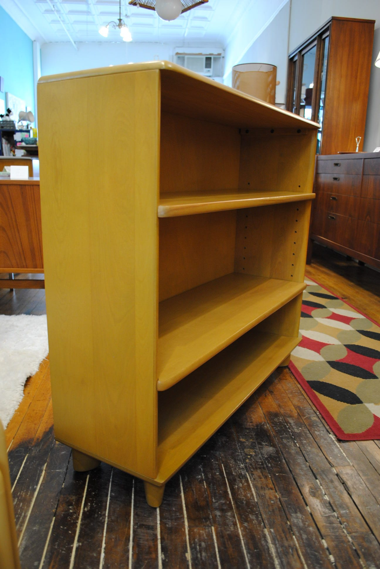 Solid Maple Bookcase By Heywood Wakefield 1950 S Circa