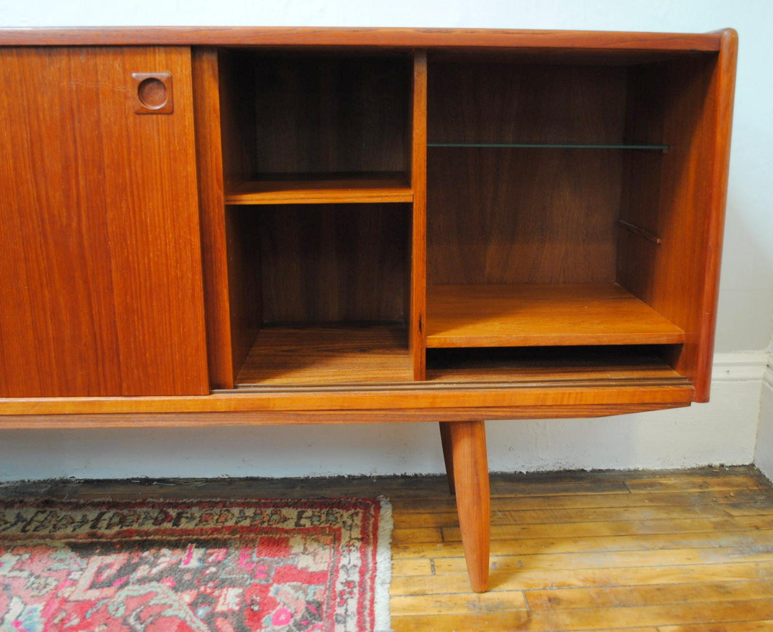 Danish Teak Credenza : Danish teak credenza pair available dining room kitchen